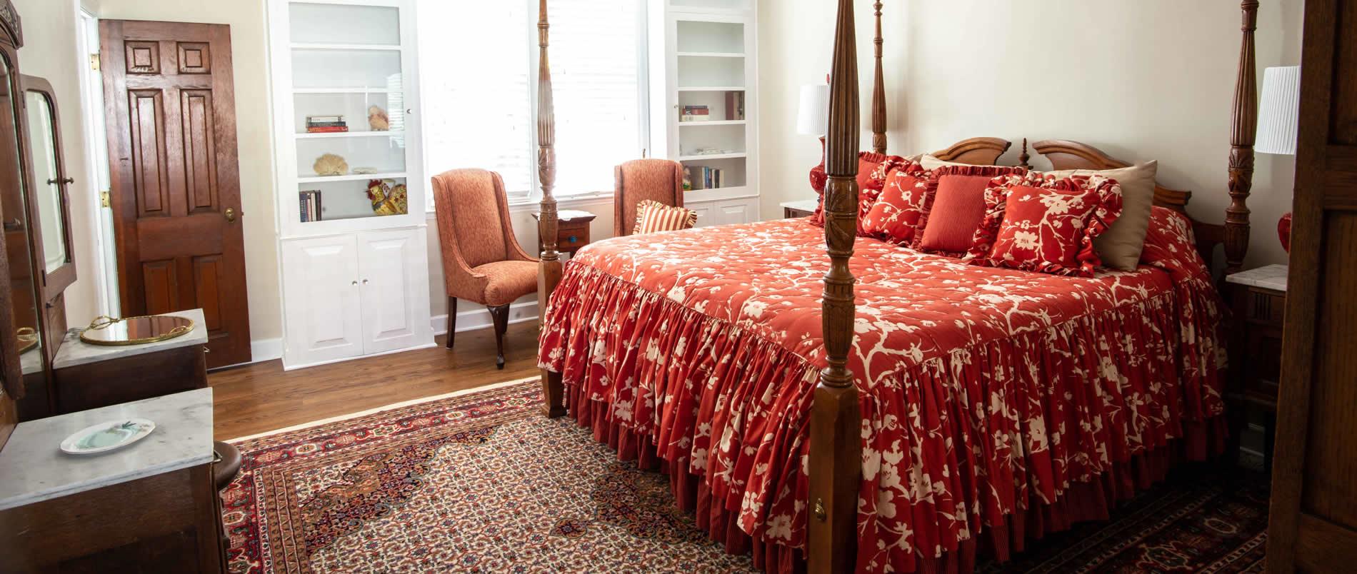 valparaiso inn bed and breakfast lodging guestroom