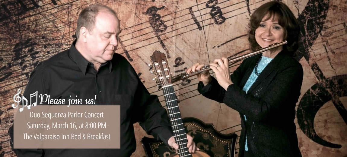 """Duo Sequenza"" Parlor Concert"